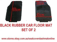 BLACK RUBBER CAR FLOOR MAT,TOYOTA HILUX, MITSUBISHI TRITON,HOLDEN RODEO,FORD XH