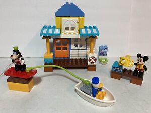 lego duplo 10827 mickey and friends beach house mickey donald pluto