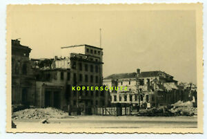 Alte Foto-AK Berlin zerbombt zerstört