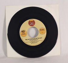 "Paul Butterfield's Better Days ""New Walking Blues"" 45 RPM 7"" Robert Johnson"