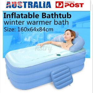 Portable Inflatable Bathtub Bathroom Bathing Spa Bath Tub Shower Swimming Pool