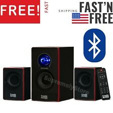 Surround Sound SystemComputerSpeakers PC Wireless TV Home Theater Bluetooth