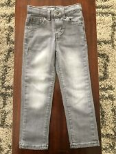 New listing Jumping Beans Skinny Gray Jeans For Boys Size 4T- Euc