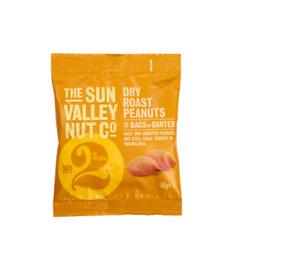 Sun Valley Dry Roasted Peanuts 50g x 24 bags FULL PUB CARD