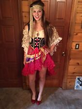 InCharacter Halloween Good Fortune Teller Renaissance Gypsy Lady Costume Small