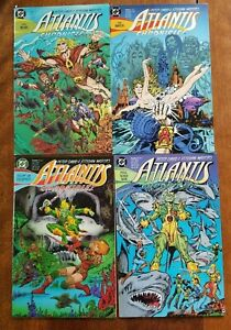 7 ISSUE COMIC LOT ATLANTIS CHRONICLES #1-7 DC COMICS COMPLETE SERIES