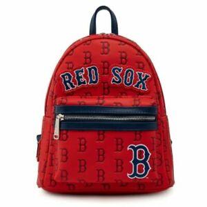 Boston Red Sox Logo Mini Backpack Loungefly
