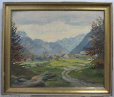 Originale Gemälde (1900-1949) mit Landschafts- & Stadt-Motiv direkt vom Künstler