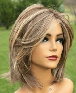Raquel Welch Big Time Wig Shaded Iced Cafe Latte NWOT