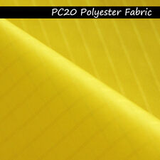 1M Yellow Icarex PC20 Ripstop Polyester Fabric for Sportst Kite Making Tent Cove