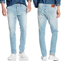Pepe Herren Slim Fit Stretch Jeans Hose | Denbigh D29 | Hellblau |W30 L32