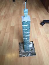 Puzzles & Geduldspiele 3D Puzzle Taipei 101 Taiwan Tower Turm Höhe 59cm Gebäude Wolkenkratzer Hochhaus
