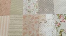 """10 sheets 6""""x6""""  FLORAL MUSE CARD STACK by Dove craft"""