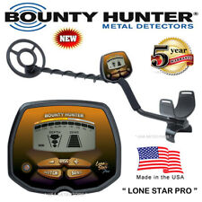 "Bounty Hunter LONE STAR PRO Metal Detector With 10"" Coil and FREE SHIPPING !"