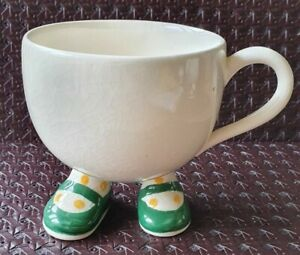 Lustre Design Carlton Walking Ware. Green shoes. Collectible & Quirky 1970's