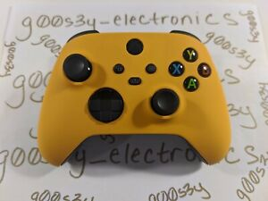 NEW Custom Xbox Series One / X / S Caution Yellow Wireless Controller