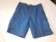 Tommy Hilfiger Men's Cargo Short 78D3397 406 Dark Blue Shorts Casual Size 29W