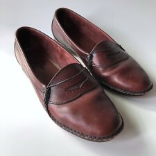 Cole Haan Loafers Cordovan Burgundy Leather 8.5 M