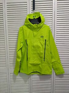 New Under Armour UA Mens Hurakan GORE-TEX® Paclite Jacket 1271465-324 Yellow L