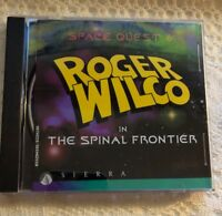 Space Quest 6 Roger Wilco In The Spinal Frontier PC CD-ROM Sierra 1995 DOS Win95