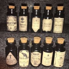 Halloween Small Apothecary Potion Bottles Harry Potter Party Decoration Prop