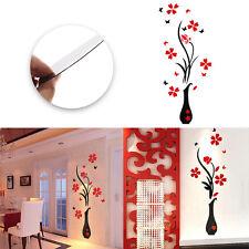 3D Flower Removable Decal Vinyl Decor Mural Art Home Living Room Wall Sticker