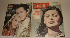 SOPHIA SOFIA LOREN=NICOLE BERGER=PIERRE MICHEL BECK=COVER MAGAZINE=1957/489