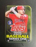 2020 Topps Series 1 Retail Exclusive Empty Mike Trout Tin