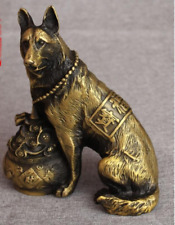 China antique Bring good luck Shepherd Dog Fortune dog Statue