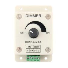 LED Dimmer Controller Gradateur Variateur Contrôleur Lumiere Eclairage DC 12V 8A