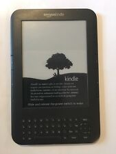 Amazon Kindle Keyboard (3rd Generation) 4GB, Wi-Fi + 3G Connected 6in - Graphite