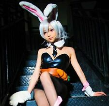 League of Legends LOL Bunny Girl Riven Dress One Size Cosplay Costume +Track