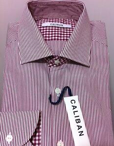 Caliban Italian luxury beautiful dress(casual) shirt  16/41  NWT$375 (Last 1)