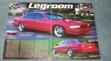"1996 Chevy Impala SS Custom Vintage Article ""Legroom"""