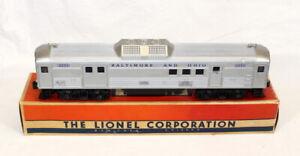 Scarce Postwar Lionel 2550 Budd RDC-4 Mail/Baggage Car~All Original~w/OB