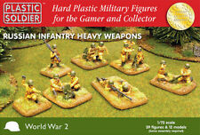 WW202004 - RUSSIAN INFANTRY HEAVY WEAPONS - PLASTIC SOLDIER COMPANY -1/72 20MM
