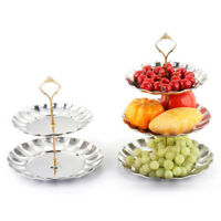 Cupcake Stand Metal Cake Dessert Wedding Event Party Display Tower Plate