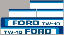 NEW TW10 FORD TRACTOR HOOD DECAL KIT TW10 HIGH QUALITY LONG LASTING VINYL DECALS