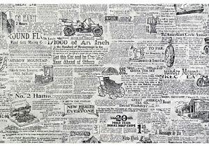 A4 Newspaper Pattern Icing Sheet / Wafer Paper | Edible Print | Cake wrap