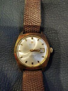 TISSOT VISODATE SEASTAR Automatic winding Vintage Watch - Working