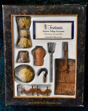 """Fontanini 5"""" Nativity Village Farming Accessories Set 51102 new in box"""