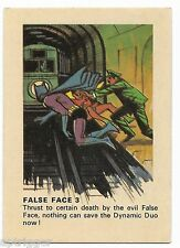 1966 Batman Weeties & Rice Krinkles False Face 3 (Excellent)