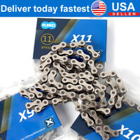 KMC 6-11 Speed Chains MTB Bike 116/118L Chain Cycling Cassette Sprocket X8-X11