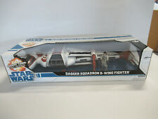"""DAGGER SQUADRON B-WING FIGHTER 22"""" Vehicle Star Wars Legacy Collection - NIB! ZQ"""