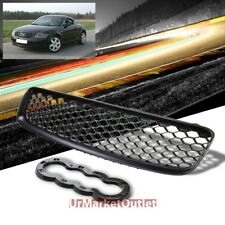 Black Honeycomb Mesh RS Style Front Grille For Audi 00-06 TT MK1 Type-8N PQ34