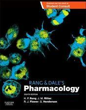 RANG AND DALE'S PHARMACOLOGY - RANG, H. P./ RITTER, J. M./ FLOWER, R. J., PH.D./