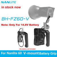 Nanlite FZ-60 V-Mount Battery Grip For Nanlite Forza 60W 60B Photography Light