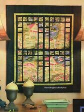 Stained Glass View Quilt Pattern Pieced/Applique SM