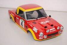 THE RALLY LEGENDS EZRL2408 Carrocería FIAT 124 ABARTH Pintado + Accesorios