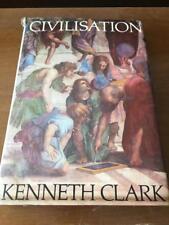 Civilisation by Kenneth Clark Vintage 1969 Illustrated Rare Hardcover Book w DJ